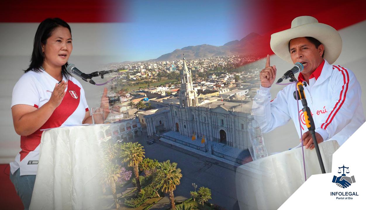 JNE: Arequipa será escenario del debate de presidencial